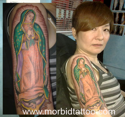 Our lady of guadalupe tattoo for Virgen de guadalupe tattoo